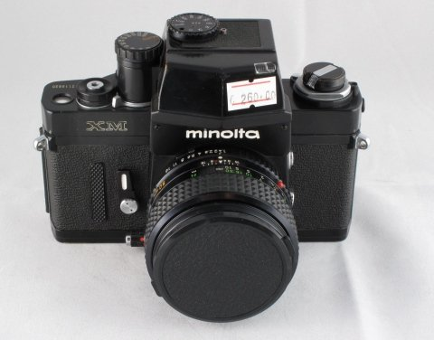 Minolta XM Con ob. 50 f1,4