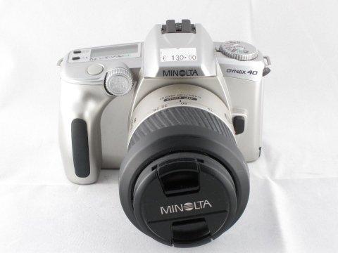 Minolta Dynax 40 kit con ob.