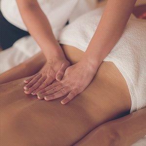 back massage treatment
