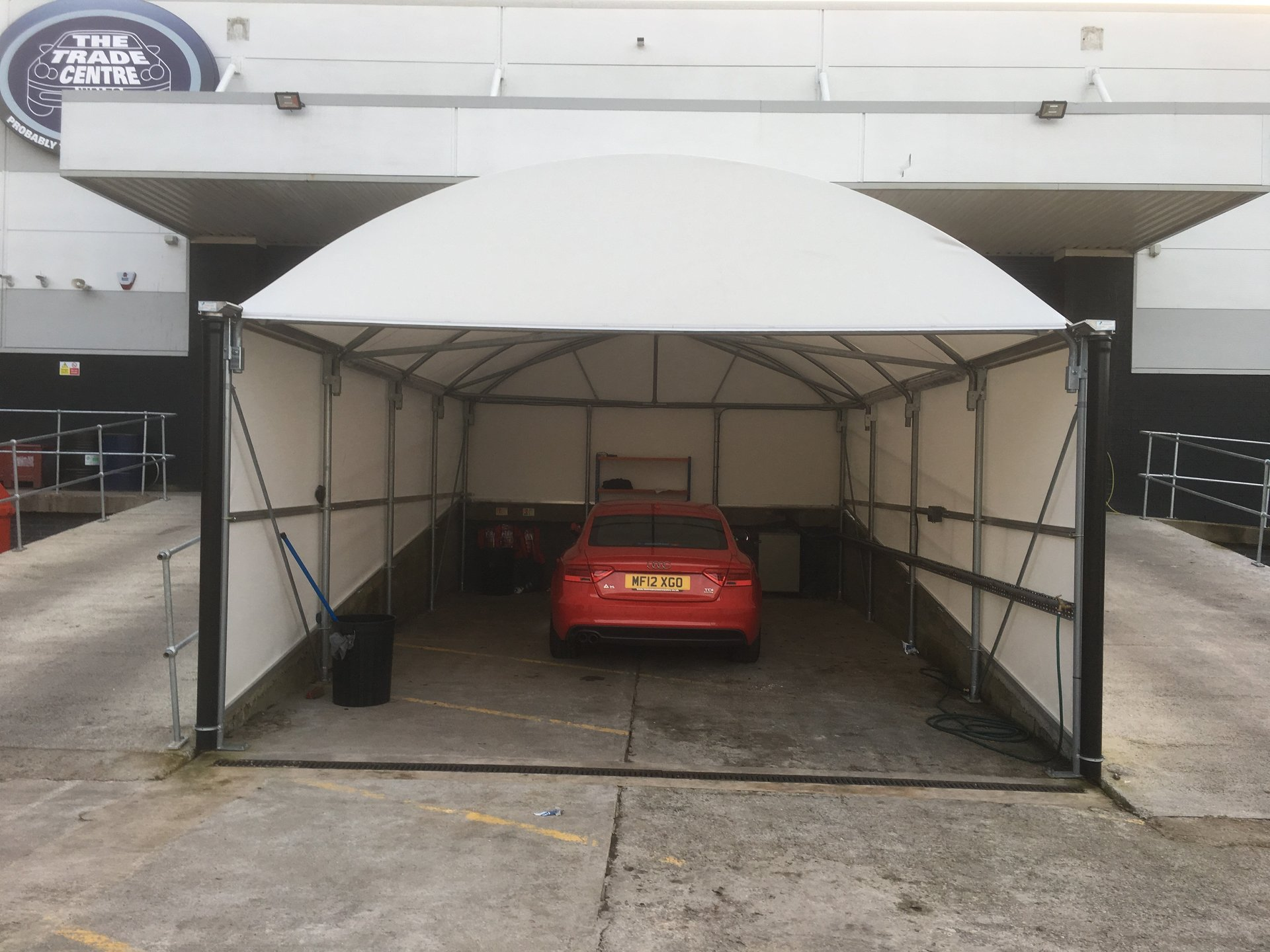 car valeting canopies