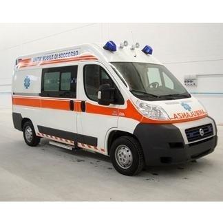 trasporto feriti e defunti