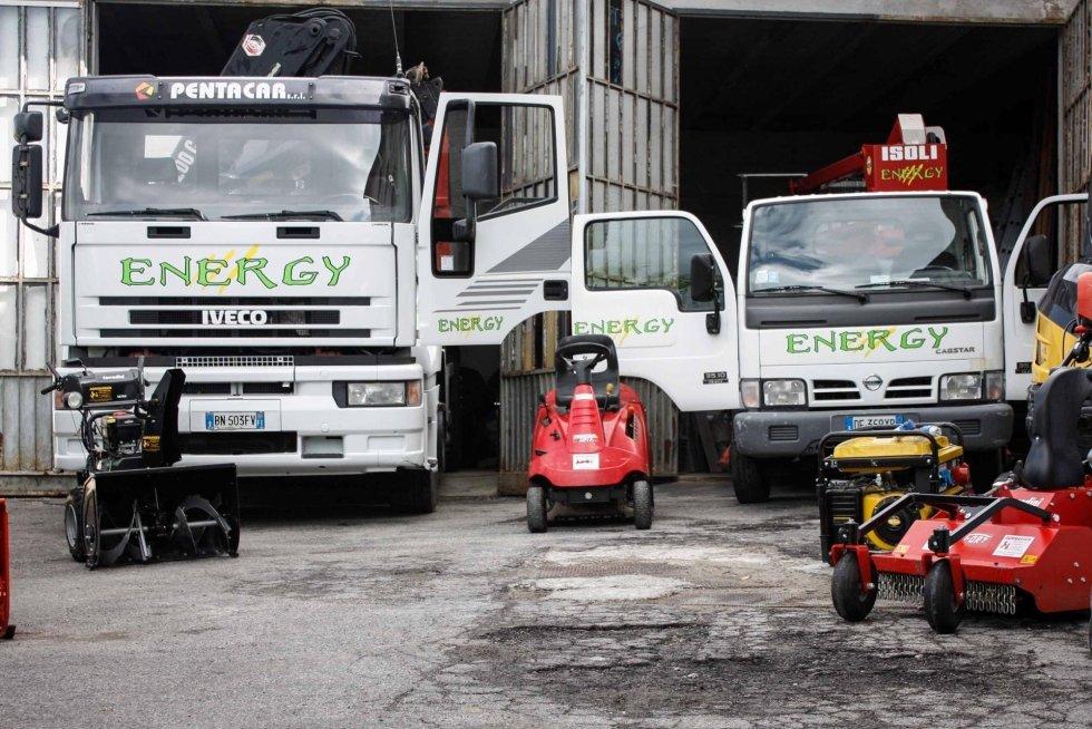 Energy Impresa spazza neve