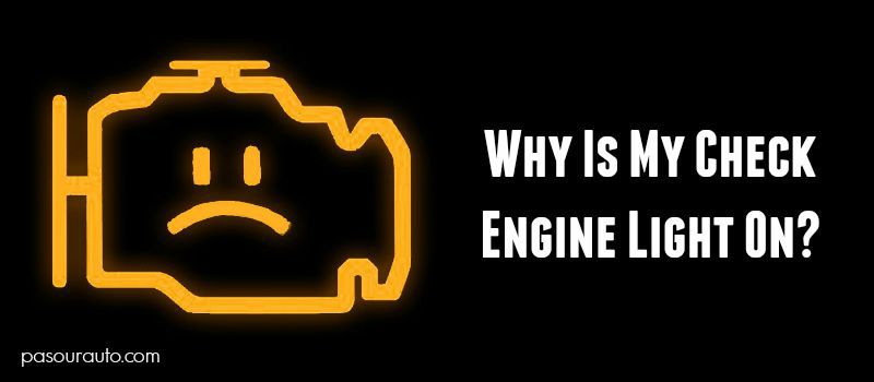 Flashing Check Engine Light >> Why Is My Check Engine Light On
