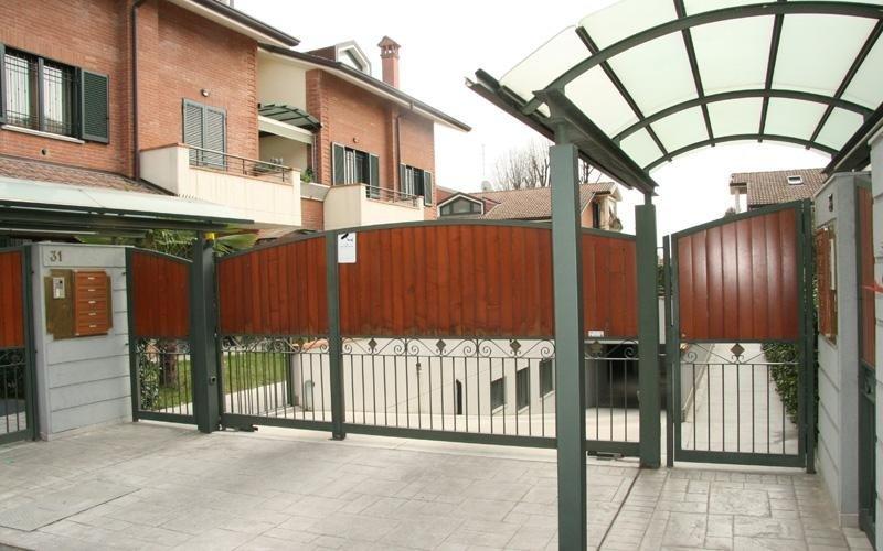 realizzazione cancelli e recinzioni monza