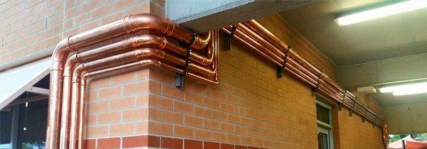 martech plumbing pty ltd metal pipe service
