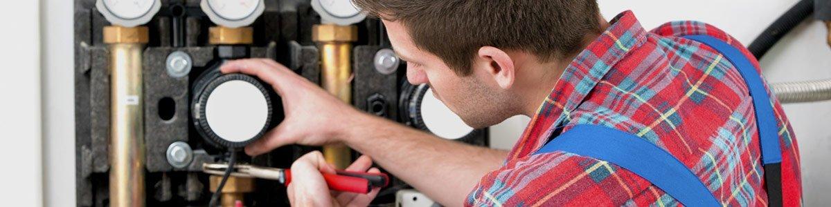martech plumbing pty ltd plumber fixing boiler