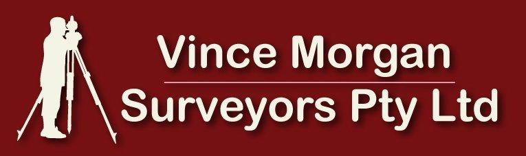 vince morgan surveyors pty ltd logo