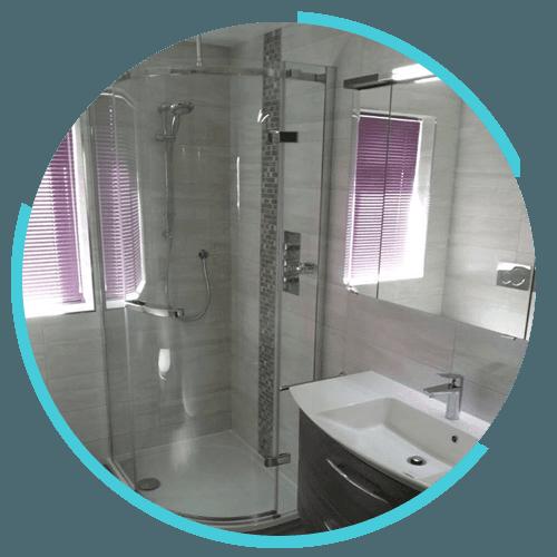 Stylish showers