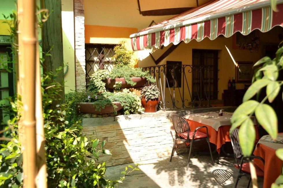 Ristorante Franciacorta: Esterno veduta veranda