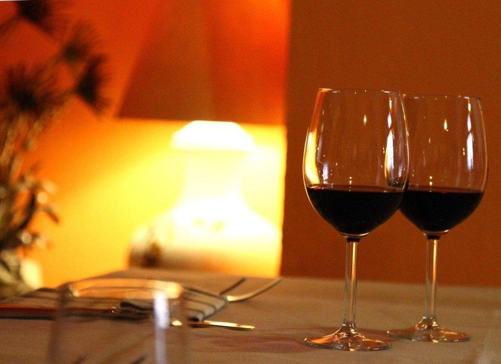 Ristorante Interno: vini tipici