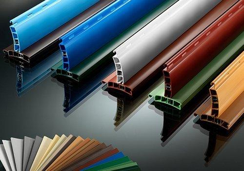 delle strisce colorate di diversi colori