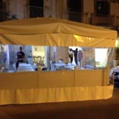una tenda impermeabile