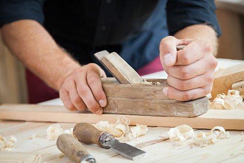 Piallando il legno