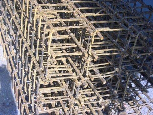 gabbie di armatura per fondazioni, pilastri, travi e cordoli per solai