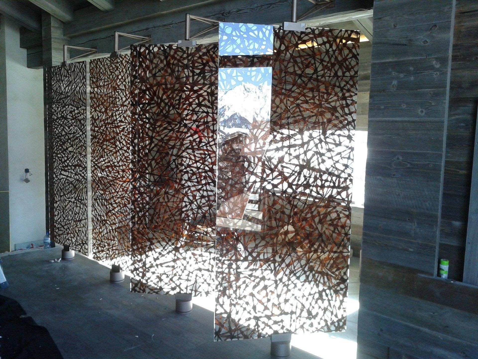 Pareti in vetro pareti divisorie per ufficio in vetro for Divisori in vetro per ufficio prezzi