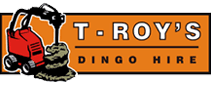 Troy dingo hire logo