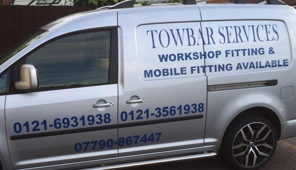 Towbar Services Mobile Van