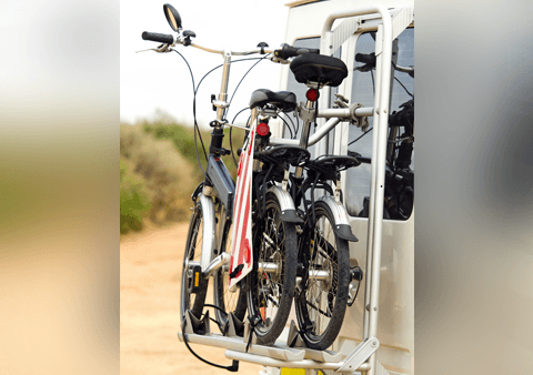 cycle carrier carrying multiple cycles