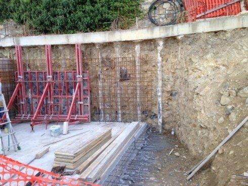 muri contro terra su palificate