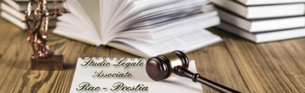 STUDIO LEGALE ASSOCIATO RAO - PRESTIA