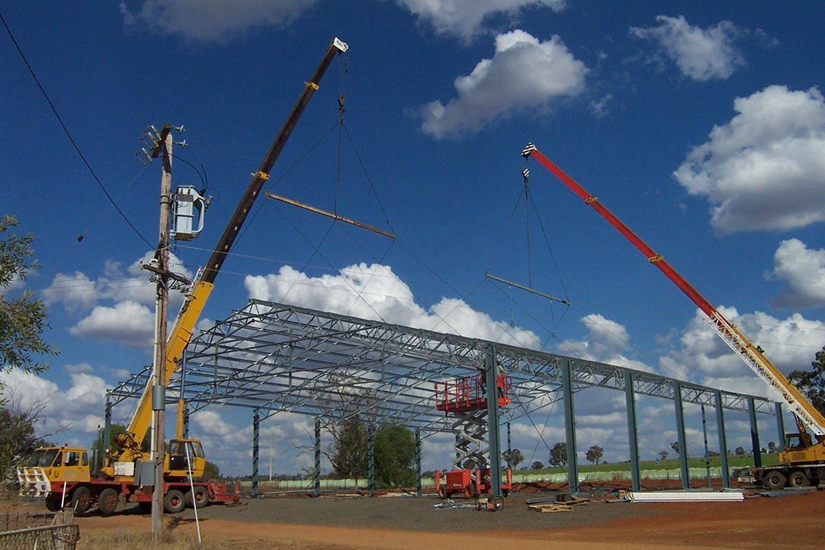 Structural Steel Design State Wide Sheds