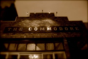 The Commodore exterior