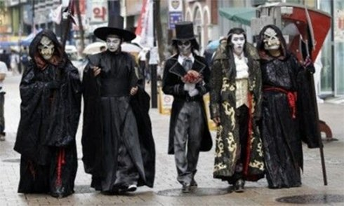 Cena e menù in maschera per halloween