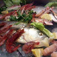pesce e gamberoni
