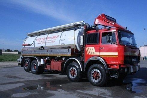 trasporto di liquami industriali
