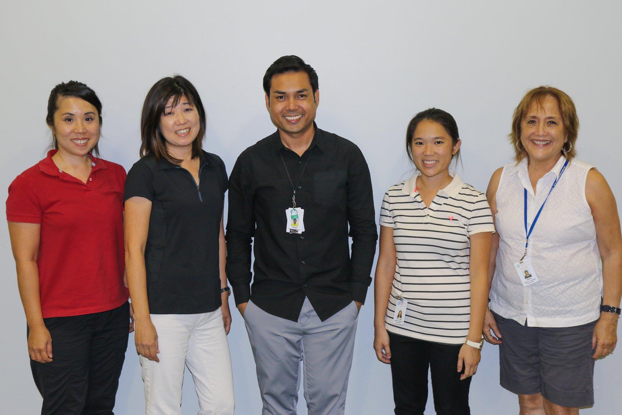 Speech Therapist team at CareResource Hawaii