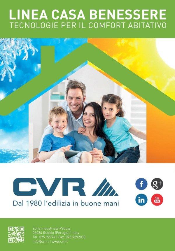 Linea Casa Benessere, Risparmio Energetico - CVR