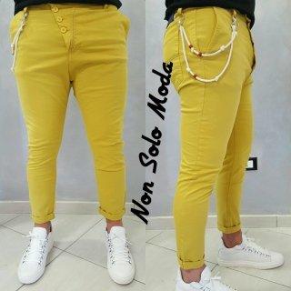 pantalone giallo