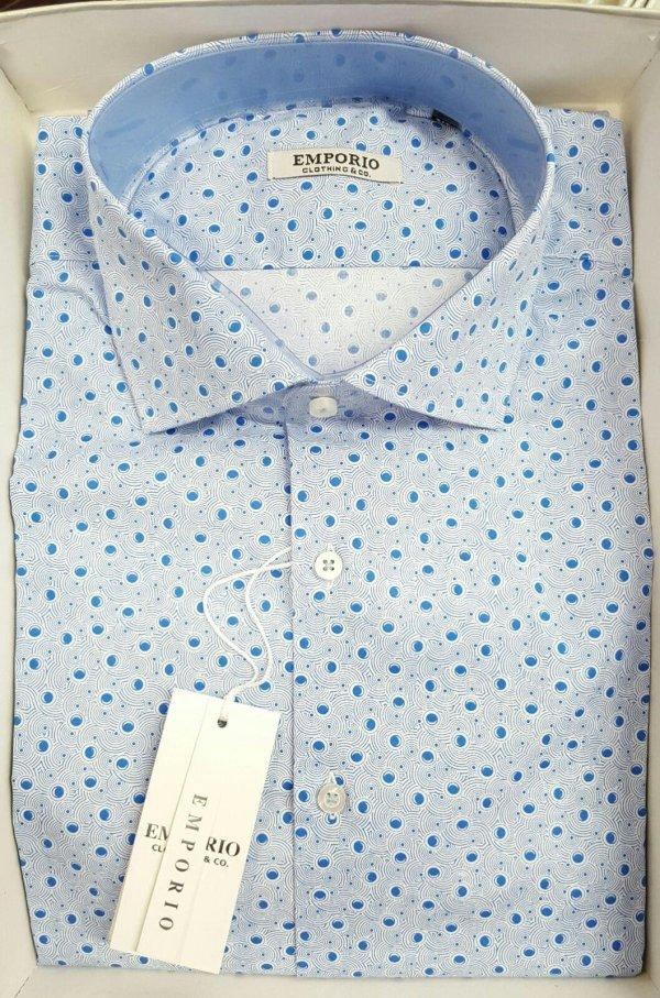 camicia da uomo modello Custom fit