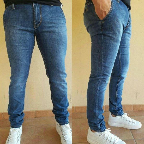 Jeans Slim Elastic