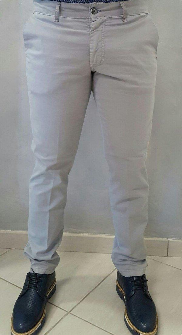 pantalone slim con tasca America