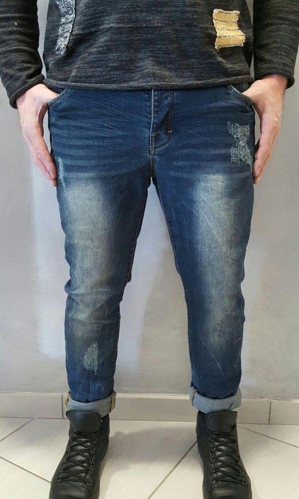 jeans semiturco elasticizzato