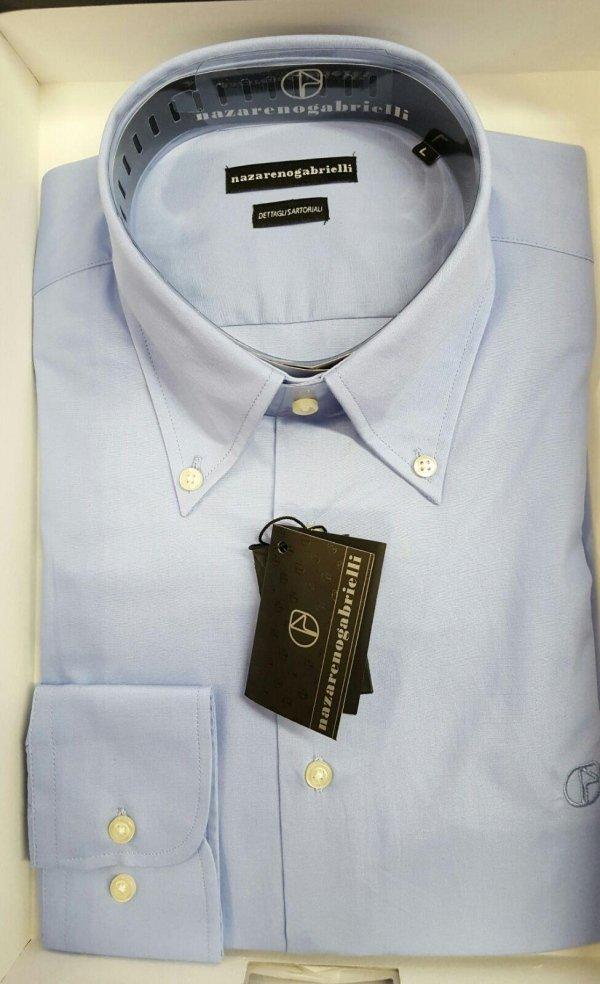 Camicia cotone manica lunga