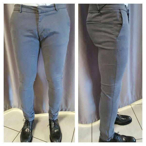 Pantaloni skinny elasticizzato Articolo G/721 colori grigio, nero, blu, moro'