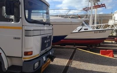 servizi gru imbarcazioni