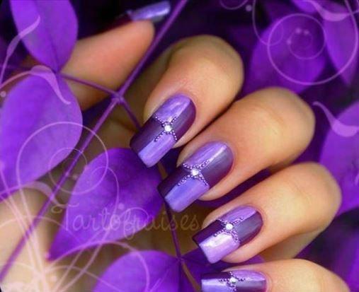 unghie di donna con nail art