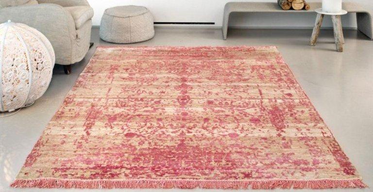 tappeto texture rossa
