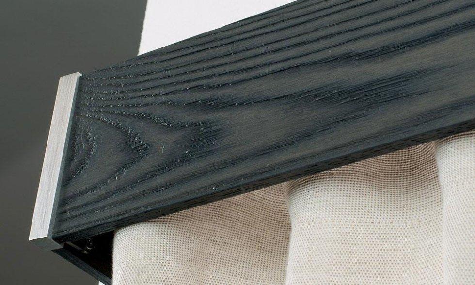 barra legno nero