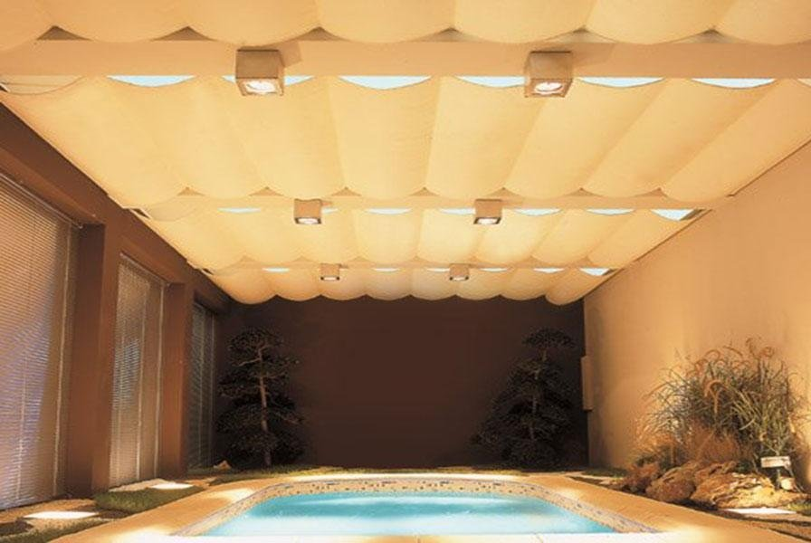 tenda rullo soffitto