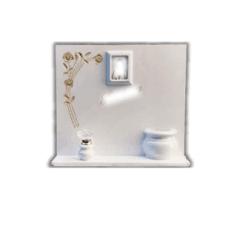 Lapide in marmo con lettere ed immagine sacra