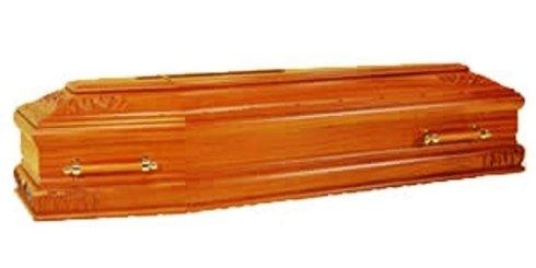 Bara in legno chiaro con maniglie in legno ed ottone