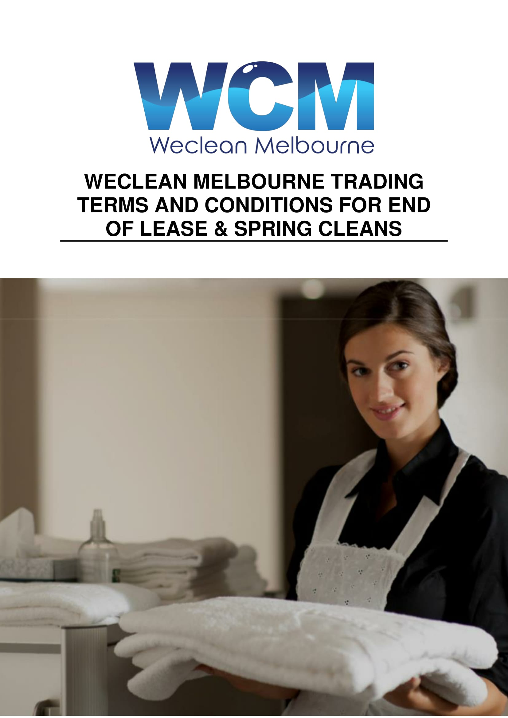 weclean melbourne end of lease criteria