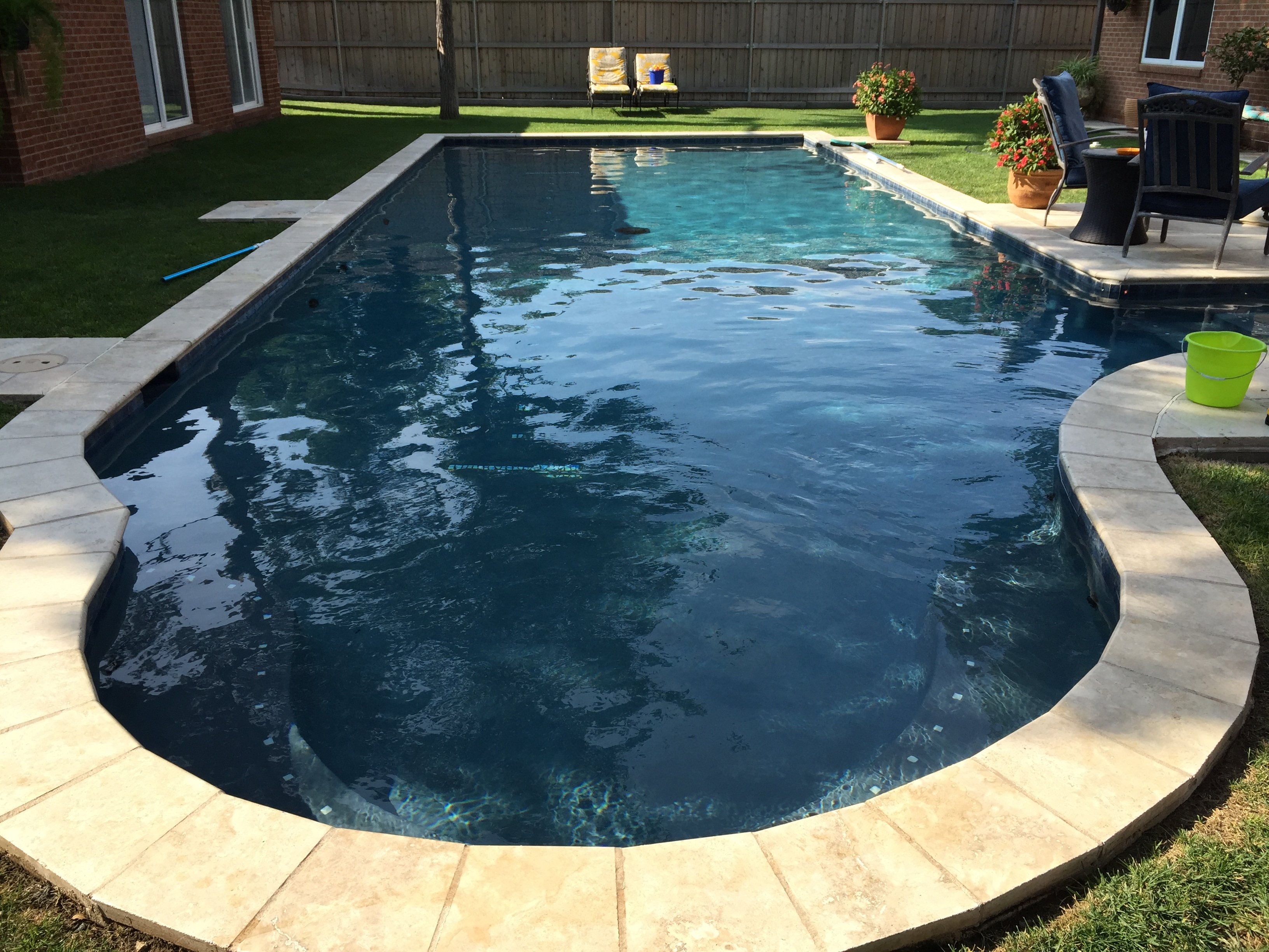 Residential Pool Installation Inground Pool Gallery Canyon Plainview Amarillo Pampa