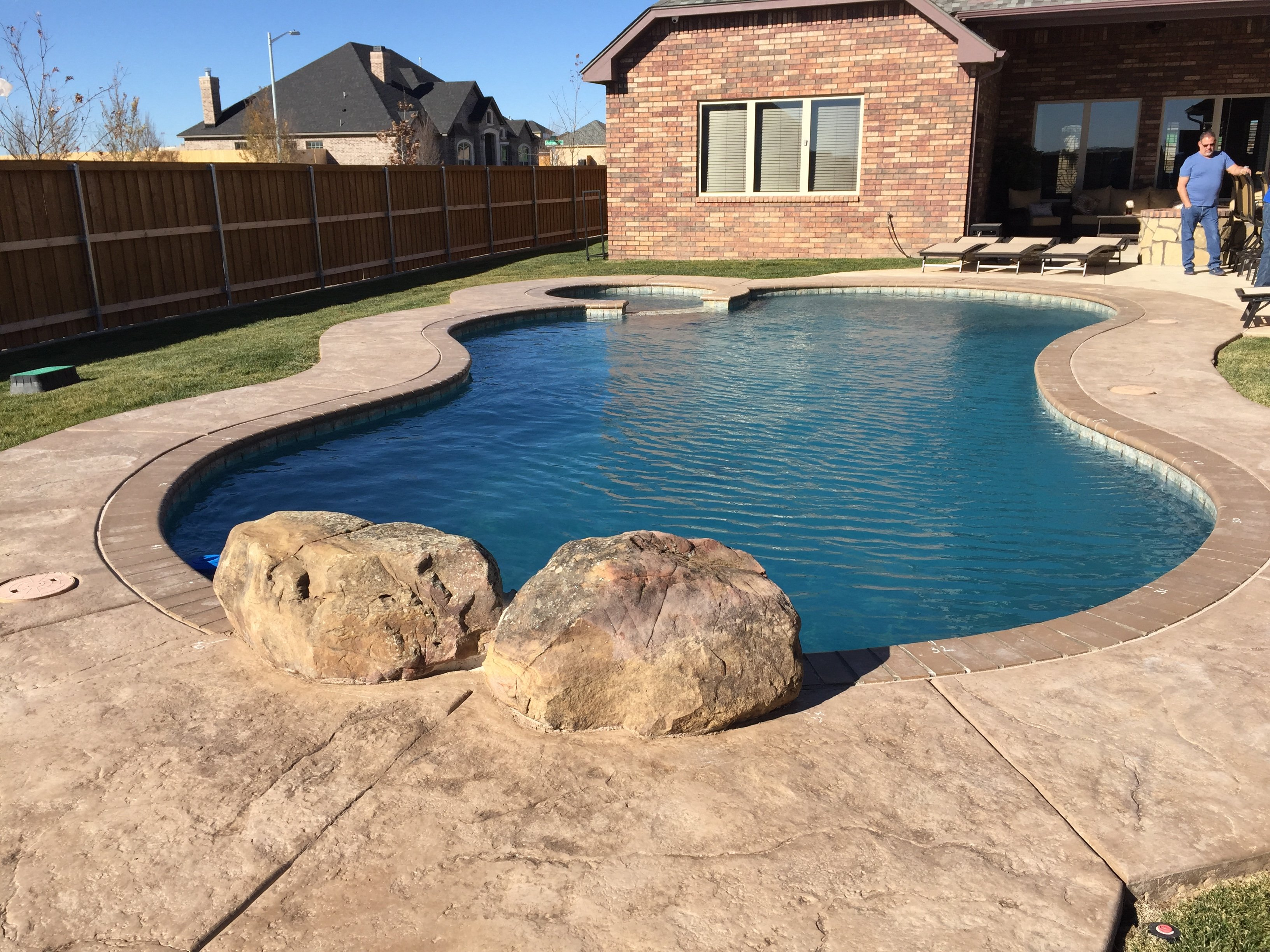 Swimming Pool Installation in Canyon, TX - Out-Back Pool & Spa