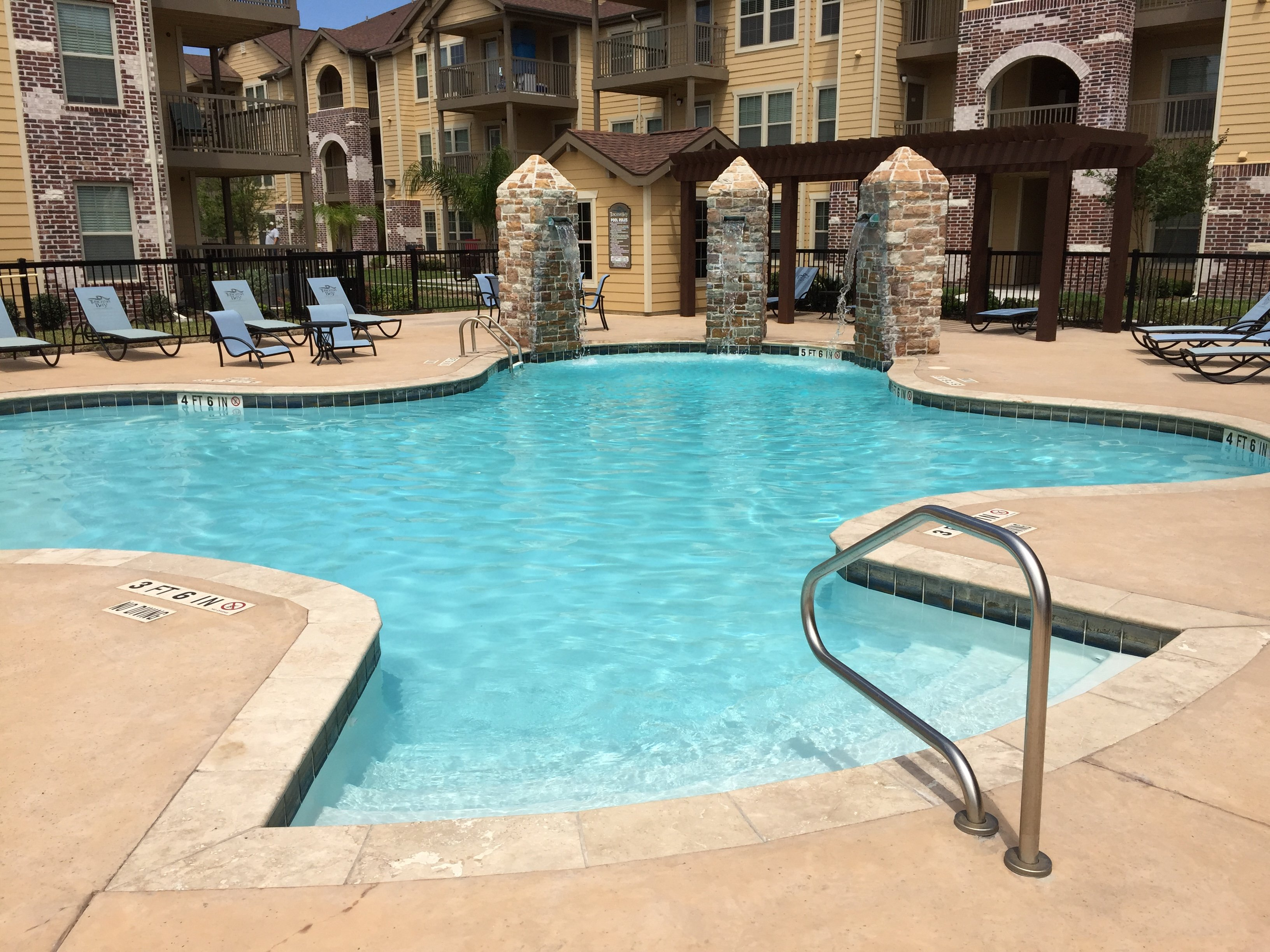 Commercial Pool Contractor Pool Installation Gallery Plainview Canyon Amarillo Pampa