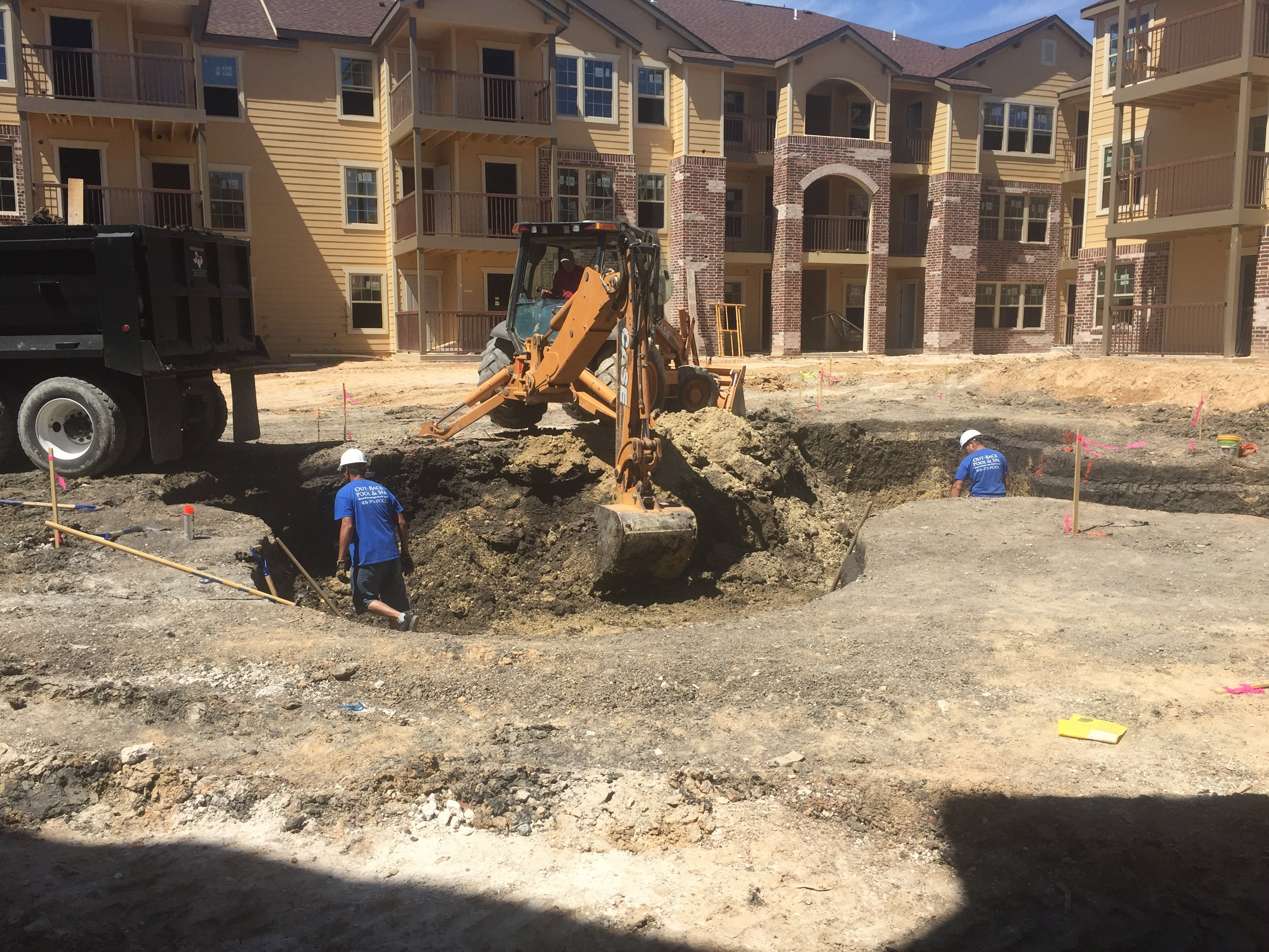 Commercial Inground Pool Installation Amarillo, TX